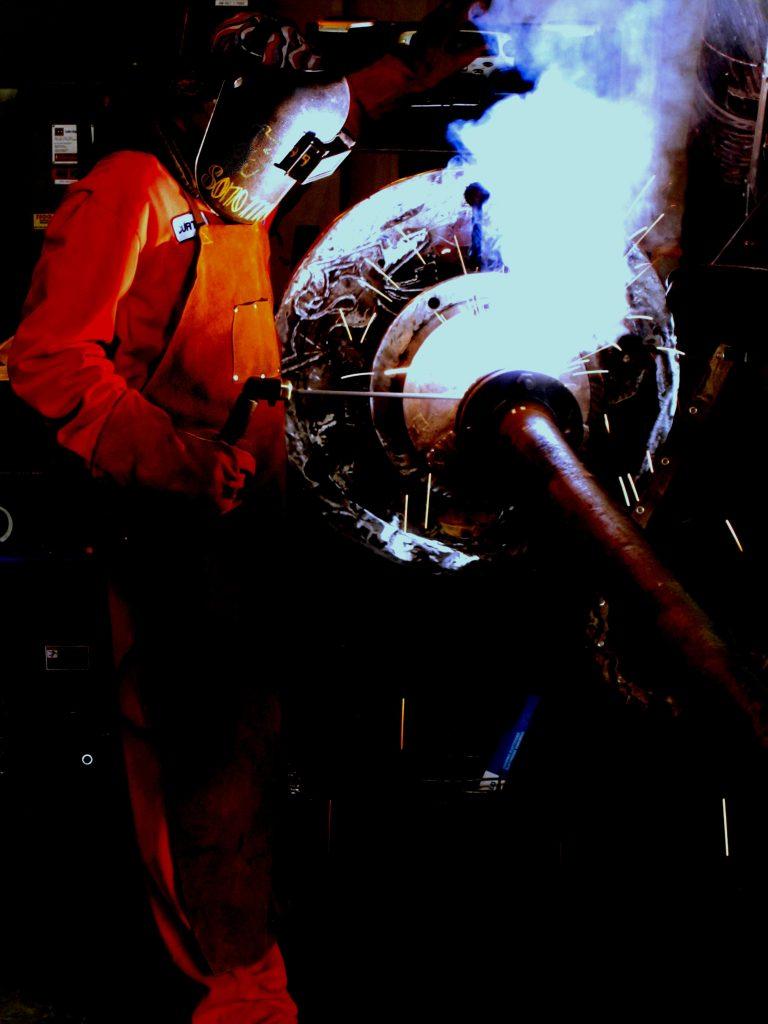pressure vessel welding