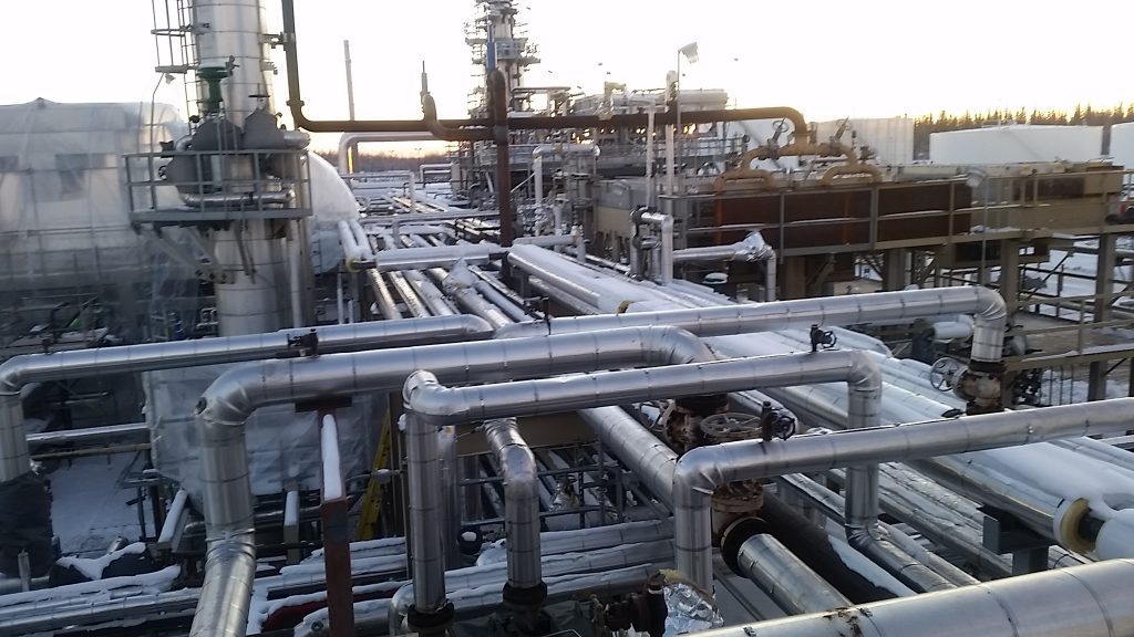 piping system plant