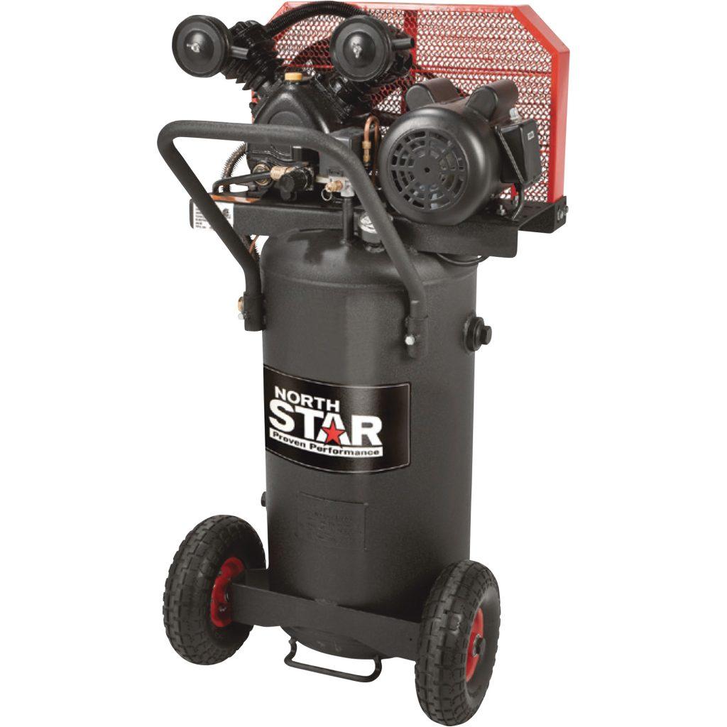 Northstar single stage portable compressor black