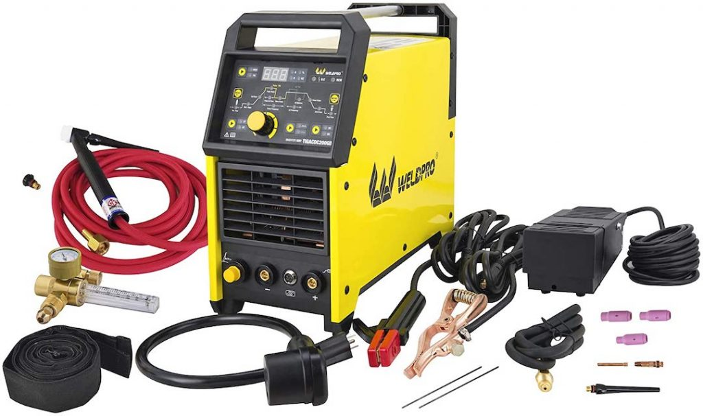 Weldpro portable TIG welder