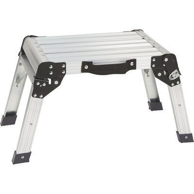 compact aluminum portable work table