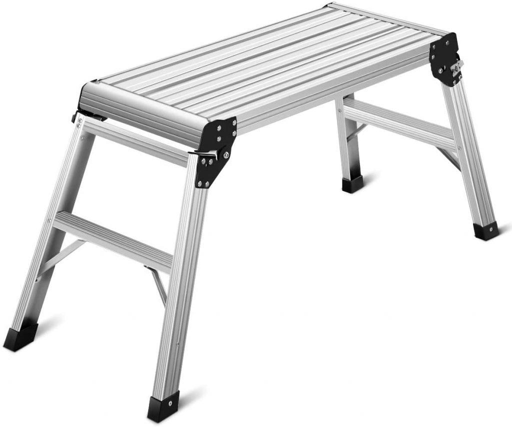 tall aluminum portable work platform