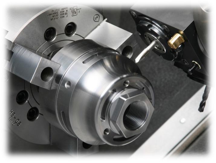 CNC machine spindle