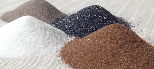 mineral abrasives
