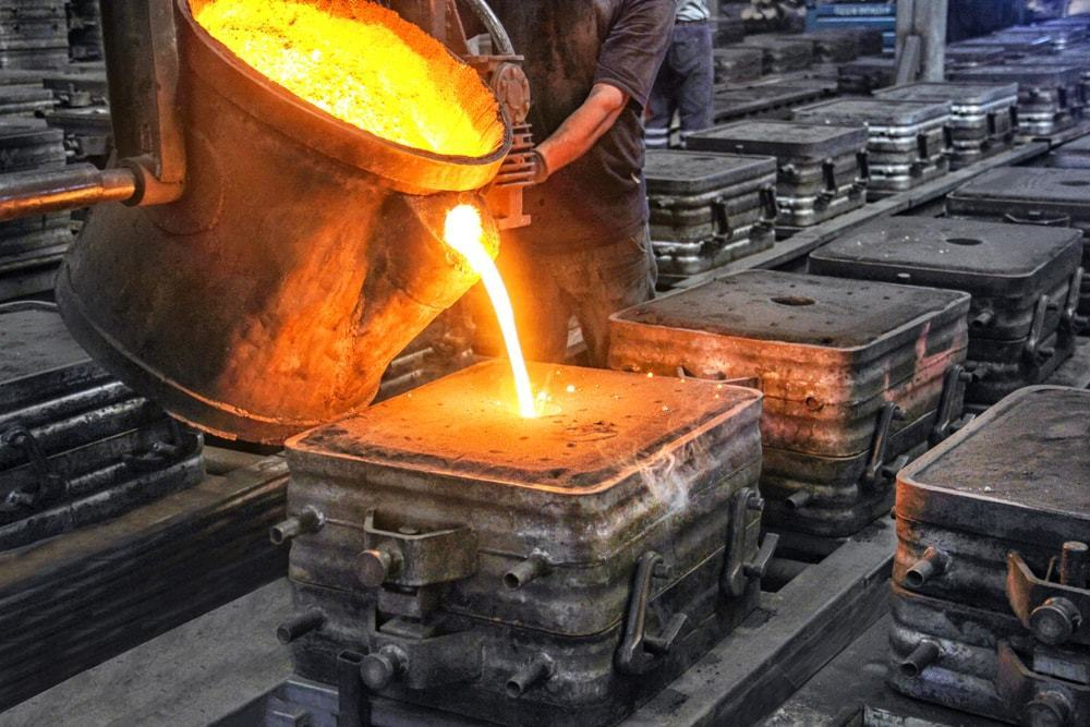 manufacturing process, casting and forging process