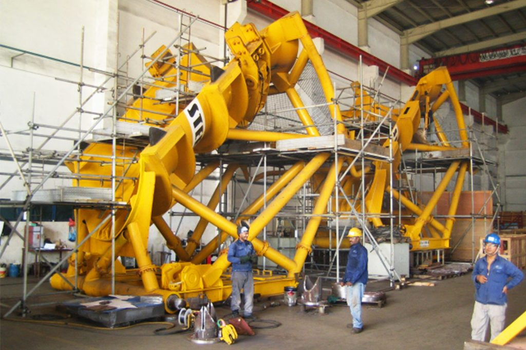 Equipment Fabrication Process Example