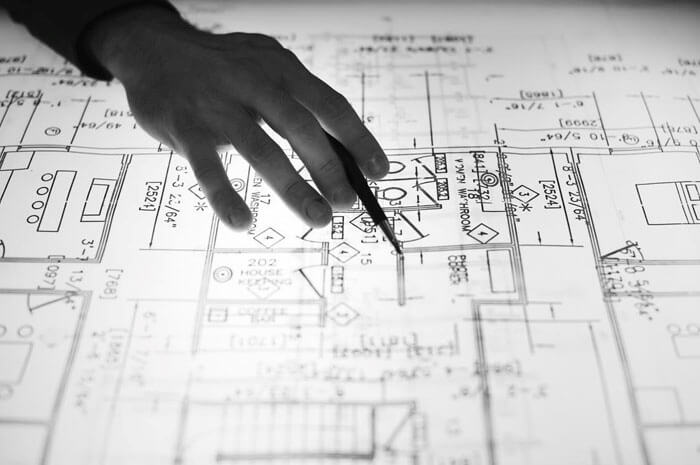 reviewing assembly drawings