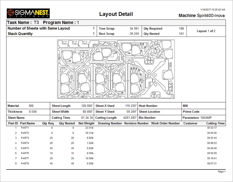 layout drawing