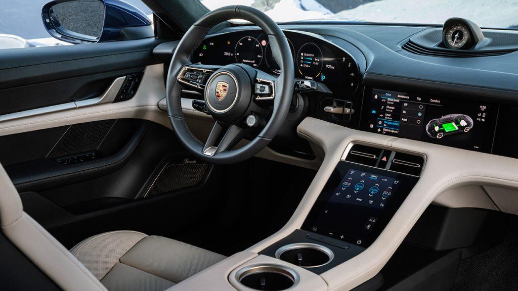 2020 Porsche Taycan interior design