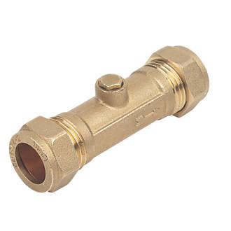 Double check valve actual photo